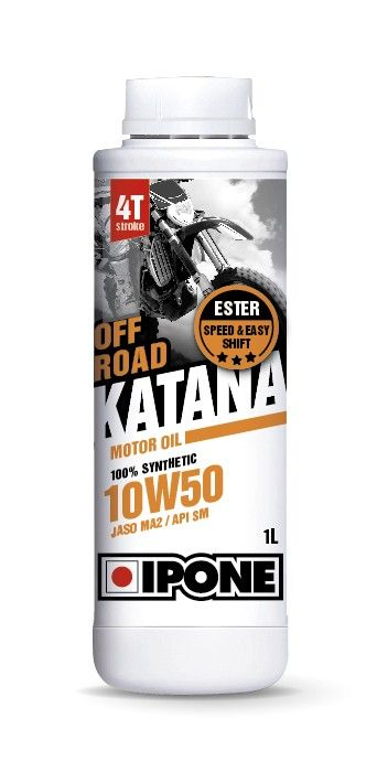 Моторное масло IPONE OFF ROAD KATANA 10W50 (1 литр) для мотоциклов