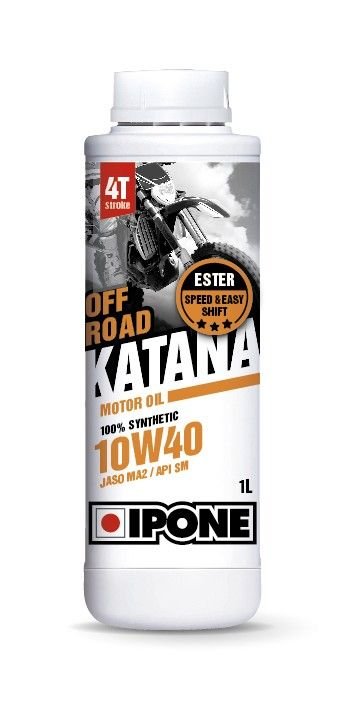 Моторное масло IPONE OFF ROAD KATANA 10W40 (1 литр) для мотоциклов