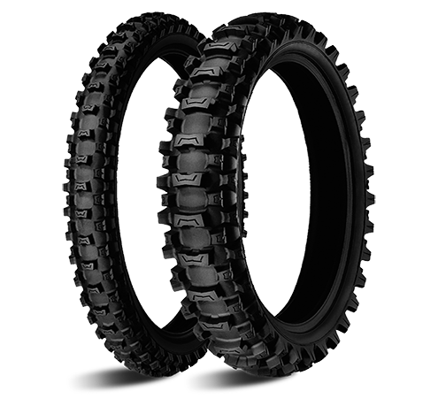 Моторезина передняя Michelin 447286 STARCROSS MS3 размер 60/100 R14 для мотоциклов