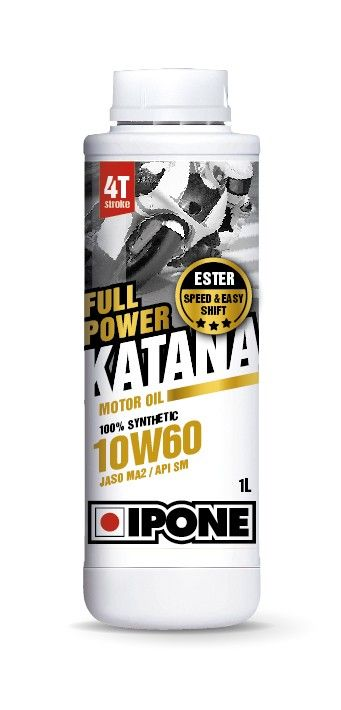 Моторное масло IPONE FULL POWER KATANA 10W60 (1 литр) для мотоциклов