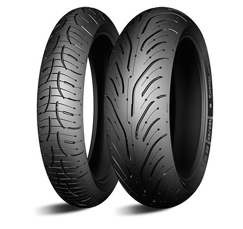 Моторезина передняя Michelin 340248 PILOT ROAD 4 GT размер 120/70 R18 для мотоциклов